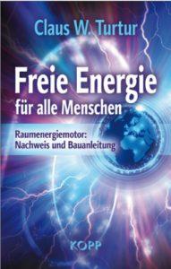 Couverture livre Freie Energie - Claus Turtur
